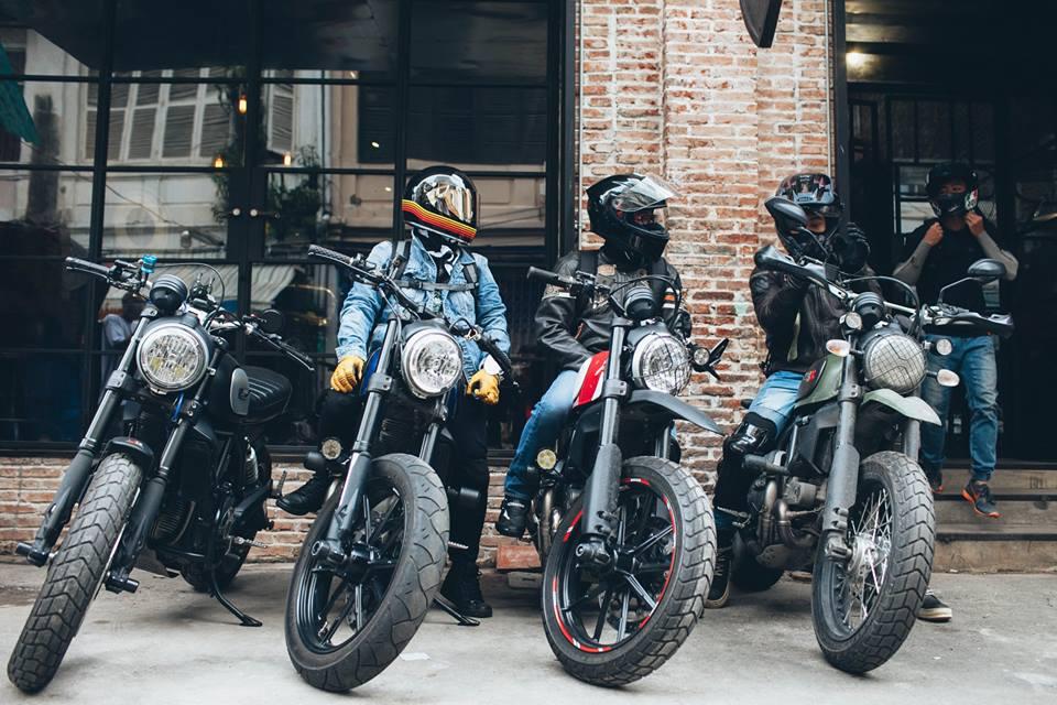 San-choi-moi-Biker-Shield-Bistro-cho-nguoi-yeu-xe-giua-Sai-Gon-anh-2