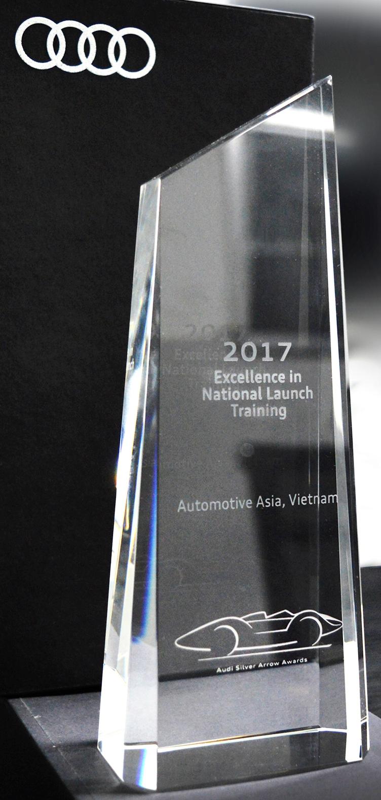 Audi-Viet-Nam-nhan-giai-thuong-quoc-te-ve-dao-tao-sau-ban-hang-anh-2