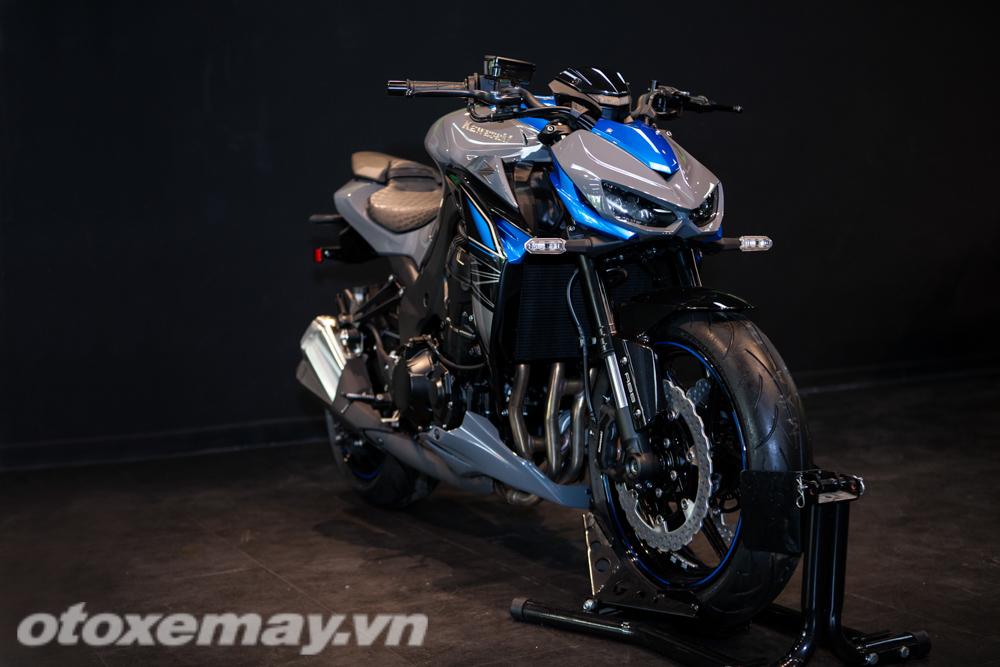 Cận Cảnh Kawasaki Z1000 V 224 Phi 234 N Bản R Edition 2018