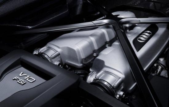 Audi R8 trang bị động cơ mới a2