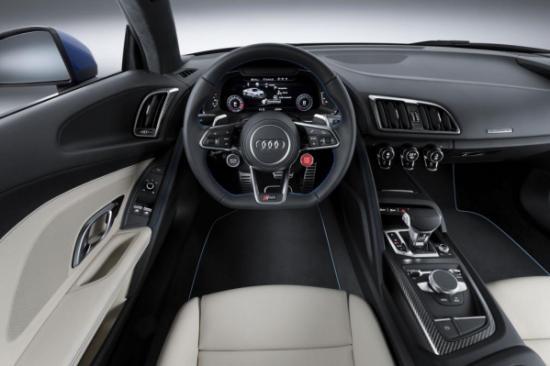 Audi R8 trang bị động cơ mới a4