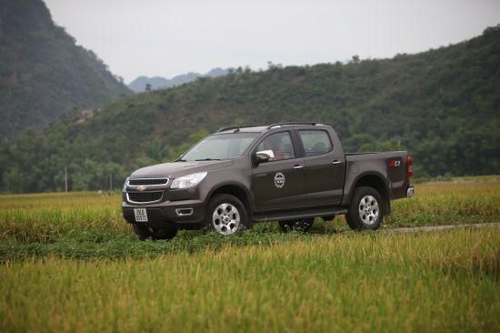 Chevrolet Colorado bán tải chất Mỹ ảnh 8