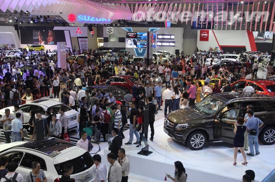 Thị trường ôtô Việt ảnh 2