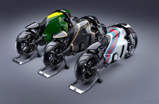 """Điểm mặt những mẫu mô tô gây """"sốc""""  -Lotus C-01"""