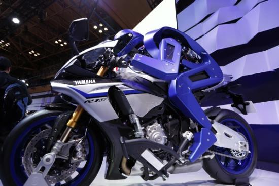 """Điểm mặt những mẫu mô tô gây """"sốc"""" -Yamaha Motobot"""