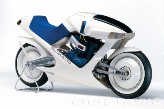 """Điểm mặt những mẫu mô tô gây """"sốc"""" -Suzuki Falcorustyco"""