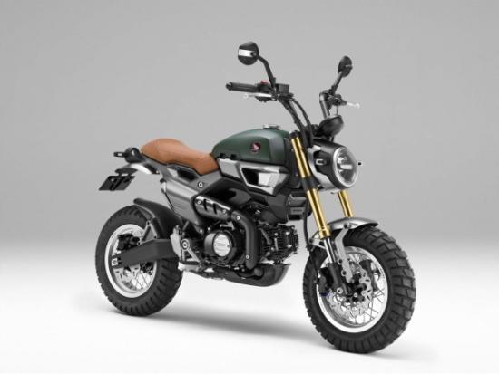 """Điểm mặt những mẫu mô tô gây """"sốc"""" -Honda Grom Scrambler"""