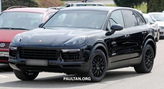 Porsche Cayenne 2018 sẽ được trang bị màn hình lớn hơn_ảnh1
