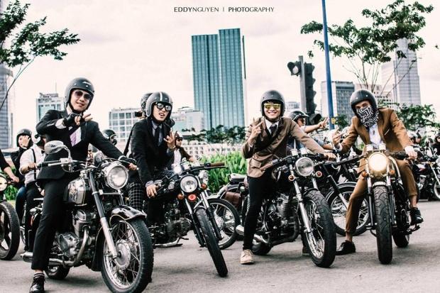 """ngày hội """"The Distinguished Gentleman's Ride 2016"""" - ảnh2"""