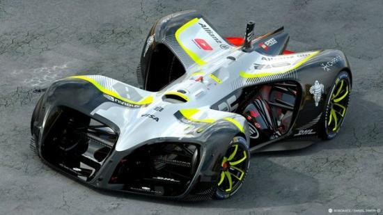 Robocar: Xe đua tự lái chạy điện đầu tiên trên thế giới 1