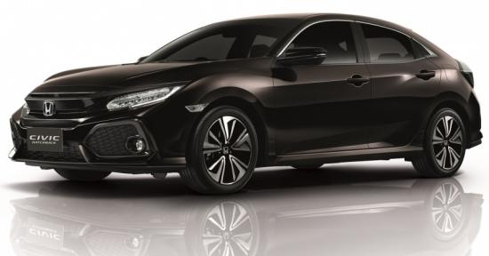 Xe Honda Civic hatchback 2017