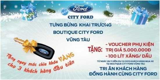 Showroom City Ford Vũng Tàu A1